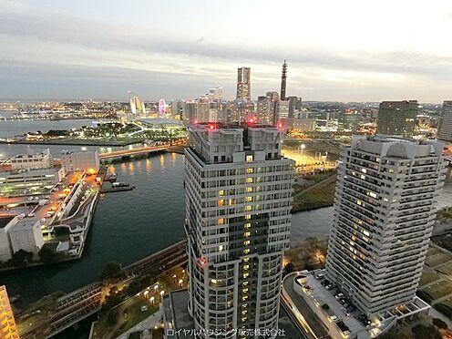 中古マンション-横浜市神奈川区栄町 32階スカイラウンジからの眺望