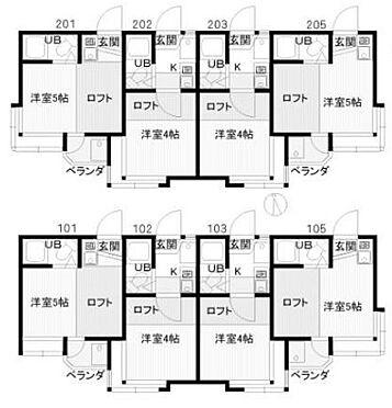 アパート-狛江市東野川4丁目 間取り図
