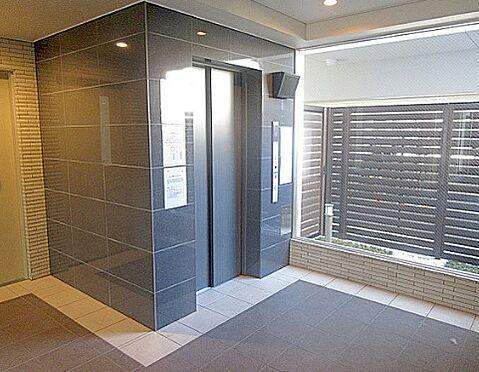 区分マンション-大阪市淀川区木川西3丁目 防犯カメラ搭載のエレベーター