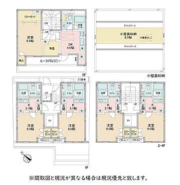 マンション(建物全部)-渋谷区渋谷3丁目 間取り