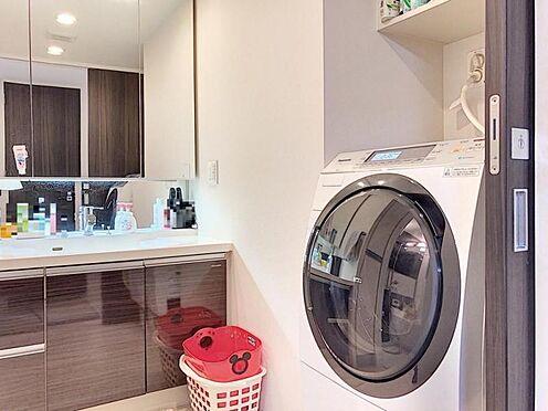 中古マンション-名古屋市緑区鳴海町字伝治山 広々とした洗面室!小物収納も豊富です♪