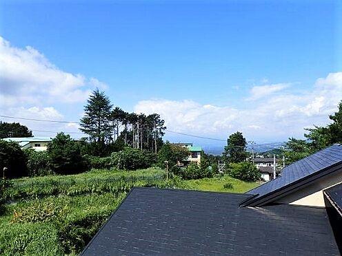 中古一戸建て-田方郡函南町平井 【景色】そのバルコニーからの景色がこちら。富士山は残念ながらこの日は雲で隠れています。