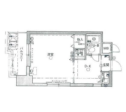 マンション(建物一部)-神戸市兵庫区大開通5丁目 間取り