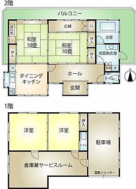 中古一戸建て-熱海市上多賀 4SDK+サービスルーム(増築未登記部分)