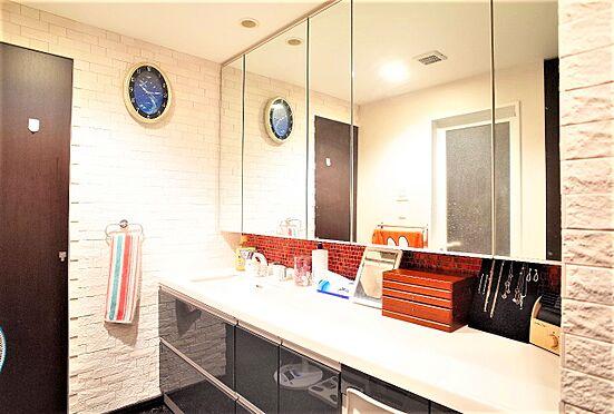 中古マンション-江東区東雲1丁目 広々とした洗面化粧台