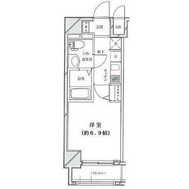 マンション(建物一部)-横浜市中区野毛町3丁目 間取り