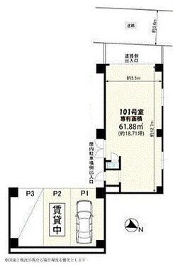 店舗事務所(建物一部)-横浜市南区白妙町3丁目 間取り