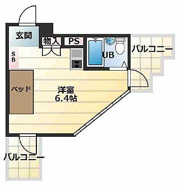 マンション(建物一部)-大阪市淀川区木川西4丁目 水回りをまとめた単身者向け1R