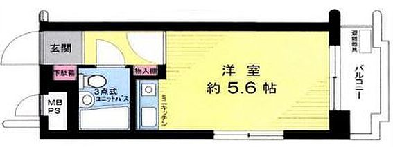 マンション(建物一部)-横浜市神奈川区新子安2丁目 間取り