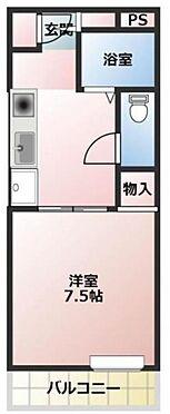 マンション(建物全部)-入間市大字下藤沢 間取り