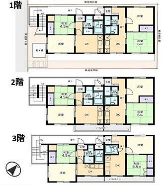 マンション(建物全部)-所沢市松葉町 間取り