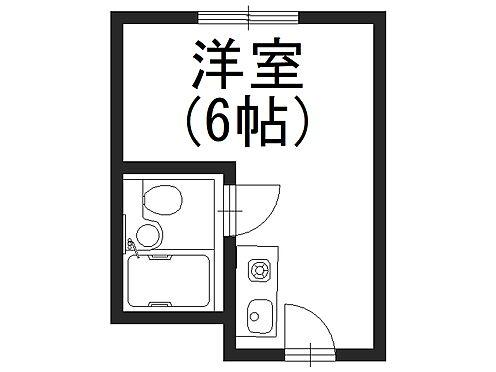マンション(建物一部)-大阪市福島区福島2丁目 1人暮らしにぴったりの間取り