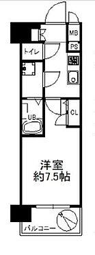 区分マンション-大阪市西区川口1丁目 間取り