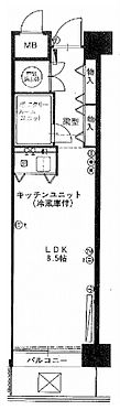 マンション(建物一部)-大阪市北区堂島2丁目 間取り