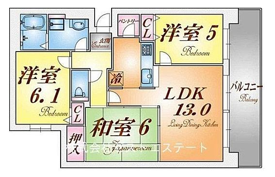 マンション(建物一部)-神戸市北区松が枝町3丁目 使い勝手のいい和室や独立型キッチンのあるファミリータイプ