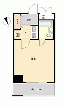 中古マンション-大阪市天王寺区上汐3丁目 間取り