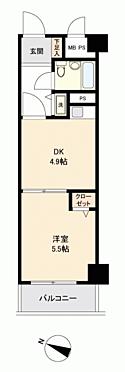 マンション(建物一部)-松戸市松戸 間取り
