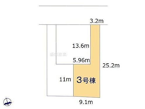 新築一戸建て-名古屋市緑区神沢2丁目 区割り図