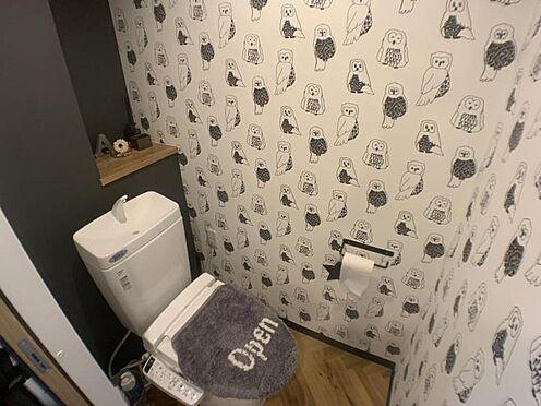 中古マンション-名古屋市天白区原2丁目 洗浄機能付きのトイレ