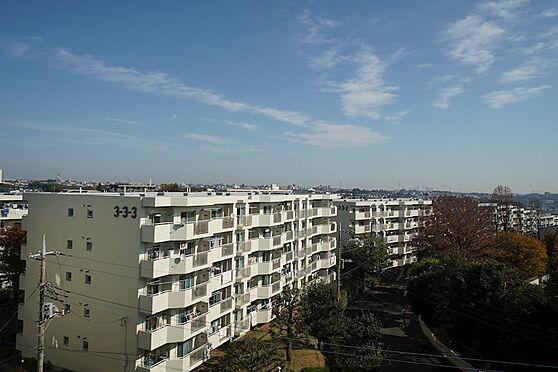 中古マンション-横浜市青葉区あざみ野3丁目 北側バルコニーからの眺望3