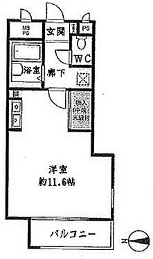 マンション(建物一部)-京都市右京区西院下花田町 間取り