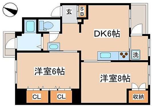 マンション(建物一部)-神戸市長田区五位ノ池町2丁目 間取り