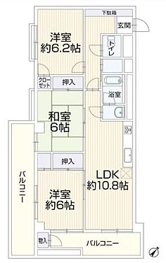 中古マンション-名古屋市千種区菊坂町2丁目 間取り