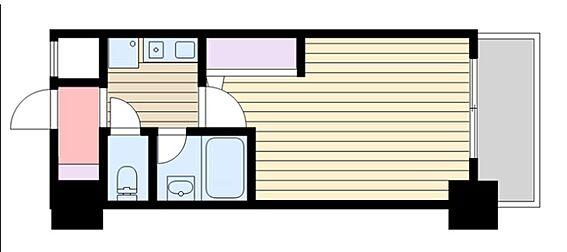 マンション(建物一部)-大阪市東淀川区東中島1丁目 単身者人気の高いセパレートのワンルーム