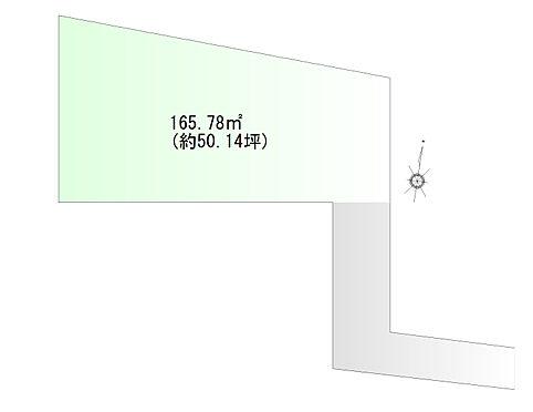 土地-仙台市宮城野区清水沼2丁目 区画図