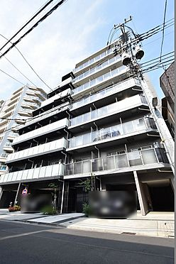 中古マンション-江東区三好4丁目 シックな色合いの落ち着いた雰囲気の外観