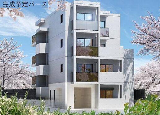 マンション(建物全部)-目黒区大橋2丁目 完成予想パース