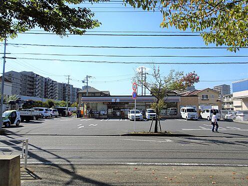 土地-横浜市緑区森の台 セブンイレブン横浜森の台店 徒歩 約4分(約250m)