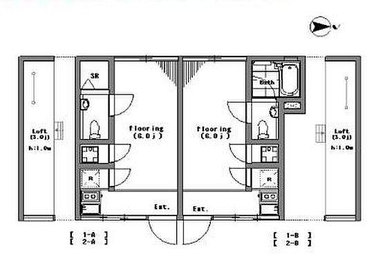 マンション(建物全部)-新宿区中落合2丁目 間取り