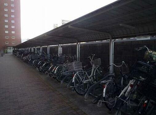 マンション(建物一部)-京都市山科区西野阿芸沢町 屋根付きの駐輪スペース
