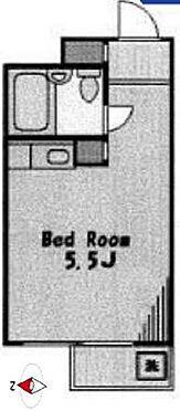 マンション(建物一部)-世田谷区駒沢4丁目 間取り