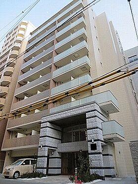 マンション(建物一部)-大阪市中央区東高麗橋 レンガ調のおしゃれな外観
