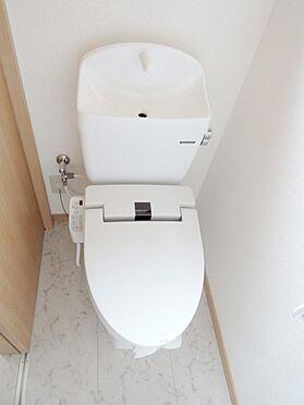 アパート-入間郡毛呂山町若山1丁目 トイレ