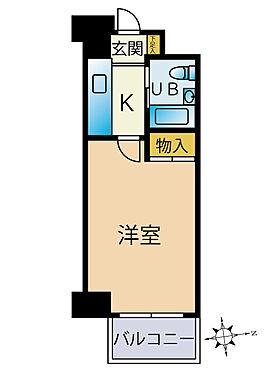 マンション(建物一部)-八王子市大和田町5丁目 間取り
