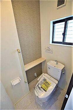 新築一戸建て-仙台市泉区北高森 トイレ