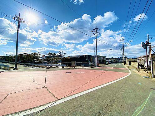 中古一戸建て-糟屋郡志免町田富2丁目 前面道路大変広々としており駐車もしやすいです!