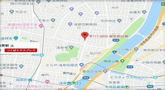 ビル(建物全部)-台東区浅草3丁目 地図