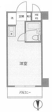 マンション(建物一部)-横浜市南区睦町1丁目 間取り