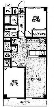中古マンション-川崎市川崎区池田2丁目 間取り