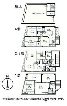マンション(建物全部)-足立区東和2丁目 間取り