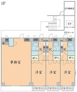 マンション(建物全部)-仙台市太白区柳生2丁目 1階 間取り図