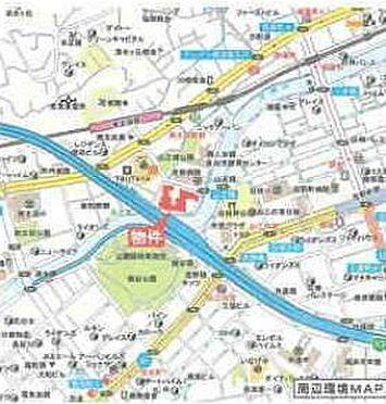 店舗(建物一部)-横浜市南区南太田1丁目 地図