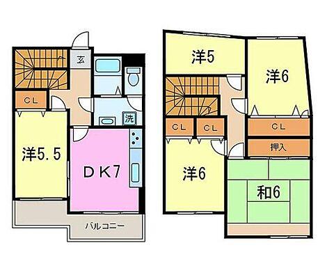 マンション(建物一部)-北九州市小倉北区熊本3丁目 間取り