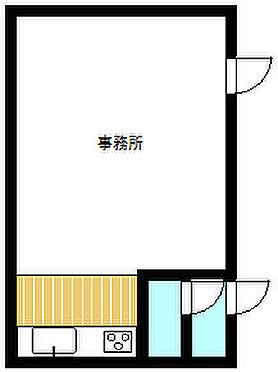 事務所(建物一部)-鹿児島市小松原2丁目 間取り