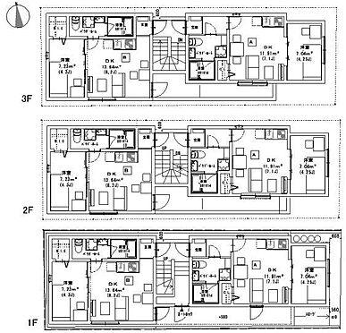 アパート-名古屋市南区大同町2丁目 間取図 ※図面と現況が異なる場合は現況優先と致します。