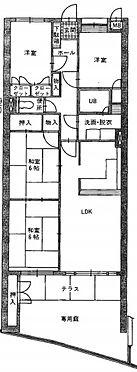 区分マンション-北九州市小倉北区熊本3丁目 間取り